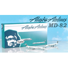 Jet-X 1:400 Alaska Airlines McDonnell Douglas MD-82 & MD-83 'Twin Set' N979AS & N940AS