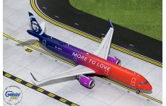 Gemini Jets 1:200 Alaska Airlines Airbus A321-200 NEO 'More to Love' N927VA (G2ASA739)