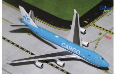 Gemini Jets 1:400 KLM Royal Dutch Airlines Cargo Boeing B747-400F 'New Colours' PH-CKA (GJKLM1827)