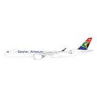 Gemini Jets 1:400 South African Airways Airbus A350-900 XWB 'Delivery' ZS-SDC (GJSAA1920)