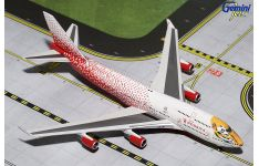 Gemini Jets 1:400 Rossiya - Russian Airlines Boeing B747-400 'Caring for Tigers Together' EI-XLD (GJSDM1584)