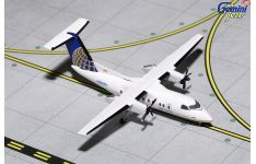 Gemini Jets 1:400 United Express (CommutAir) de Havilland 'Dash-8' DHC-8-200 N365PH (GJUAL1153)