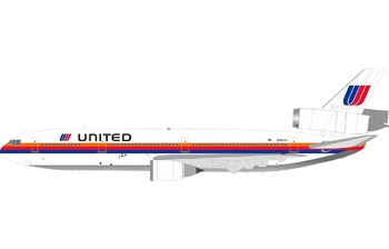InFlight 200 1:200 United Airlines McDonnell Douglas DC-10-10 'Saul Bass Colours' N1812U (IF101UA0819)