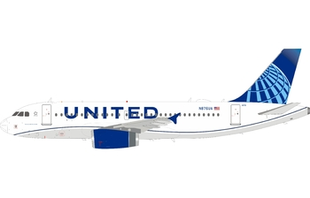InFlight 200 1:200 United Airlines Airbus A319-100 'New Colours' N876UA (IF319UA0220)