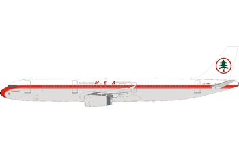 InFlight 200 1:200 MEA - Middle East Airlines Airbus A321-200 'Retro' OD-RMI (IF321ME0520)