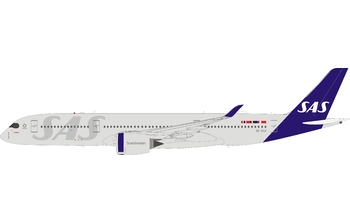 JC Wings 1:200 SAS Scandinavian Airlines Airbus A350-900 XWB 'Delivery - Flaps Up' SE-RSA (JC2SAS369 / XX2369)