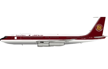 InFlight 200 1:200 Qatar Amiri Flight Boeing B707-300 VIP A7-AAA (IF7071119)