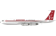 InFlight 200 1:200 Qantas Airways Boeing B707-300 'City of Darwin' VH-EAI (IF707QFAEAIP)