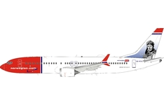 InFlight 200 1:200 Norwegian Air Sweden Boeing B737-800 MAX 'Charles Lindbergh' SE-RTA (IF73MDY1120)