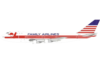 InFlight 200 1:200 Family Airlines Boeing B747-100 N93117 (IF741FAM0519)