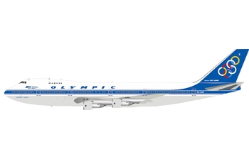 InFlight 200 1:200 Olympic Airways Boeing B747-200 'Olympic Peace' SX-OAE (IF742OA0820)