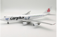 InFlight 200 1:200 Cargolux Airlines International Boeing B747-400F 'Sea Life Trust - Beluga Whale Sanctuary' LX-ECV (IF744CV0319)