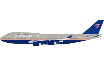 InFlight 200 1:200 United Airlines Boeing B747-400 'Old Colours' N172UA (IF744UA0519)