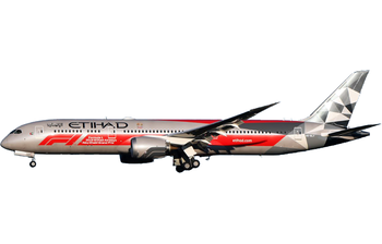 JC Wings 1:200 Etihad Airways Boeing B787-900 Dreamliner '2018 Abu Dhabi Formula 1 Grand Prix' A6-BLV (EW2789002)