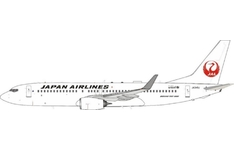 J-Fox Models 1:200 JAL Japan Airlines Boeing B737-800w JA349J (JF-737-8-030)