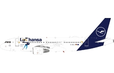 J-Fox Models 1:200 Lufthansa Airbus A319-100 'Lu The Duck' D-AILU (JF-A319-013)