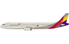 J-Fox Models 1:200 Asiana Airlines Airbus A321-200 HL8279 (JF-A321-012)