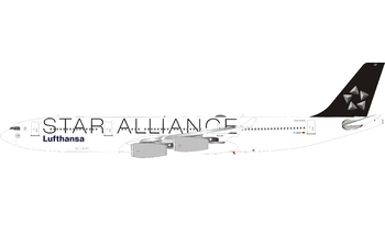 J-Fox Models 1:200 Lufthansa Airbus A340-300 'Star Alliance' D-AIGP (JF-A340-3-006)