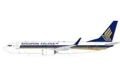 J-Fox Models 1:200 Singapore Airlines Boeing B737-800w 'Delivery' 9V-MGA (WB-737-8-036)