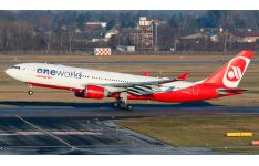 JC Wings 1:400 Air Berlin Airbus A330-200 'OneWorld' D-ABXA (XX4022)
