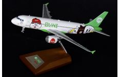 JC Wings 1:200 Air Asia Airbus A320-200 'Line' 9M-AHR (XX2956)