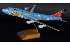 JC Wings 1:200 JAL Japan Airlines Boeing B747-400D 'Dream Express 21 No. 3 - Family' JA8083 (BBOX2535)