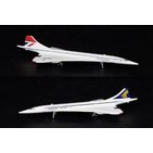 JC Wings 1:400 British Airways / Singapore Airlines BAC Concorde 102 G-BOAD (XX4905)