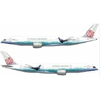 JC Wings 1:200 China Airlines Airbus A350-900 XWB 'Mikado Pheasant - Flaps Up' B-18901 (LH2010)