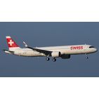 JC Wings 1:200 Swiss Airbus A321-200 NEO 'Delivery' HB-JPA (EW221N007)