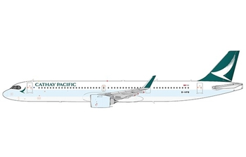 JC Wings 1:400 Cathay Pacific Airbus A321-200 NEO 'Delivery' B-HPB (EW421N009)