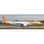 JC Wings 1:200 Scoot Singapore Airbus A321-200 NEO 'Delivery' 9V-TCA (EW221N012)