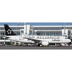 JC Wings 1:200 Lufthansa Airbus A320-200S 'Star Alliance' D-AIUA (EW2320012)