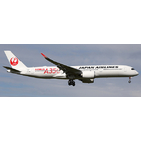 JC Wings 1:400 JAL Japan Airlines Airbus A350-900 XWB 'Delivery - Flaps Down' JA01XJ (EW4359001A)