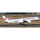 JC Wings 1:200 JAL Japan Airlines Airbus A350-900 XWB 'Silver - Flaps Up' JA02XJ (EW2359002)