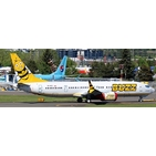 JC Wings 1:200 Buzz Boeing B737-800 MAX 'Delivery' SP-RZC (EW238M003)