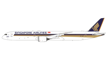 JC Wings 1:400 Singapore Airlines Boeing B787-10 Dreamliner '1000th 787 - Flaps Down' 9V-SCP (EW478X003A)