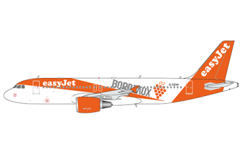 JC Wings 1:400 easyJet Airbus A320-200 'Bordeaux' G-EZUH (EW4320003)