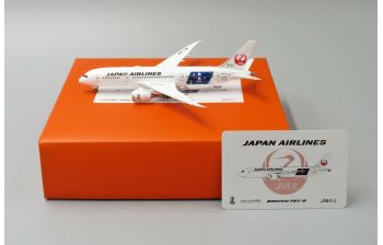 JC Wings 1:400 JAL Japan Airlines Boeing B787-800 Dreamliner 'Spirit of Victory' JA841J (EW4788001)
