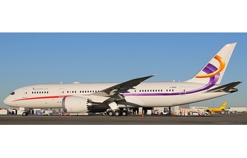 JC Wings 1:400 Deer Jet Boeing B787-800 BBJ 'Flaps Up' 2-DEER (EW4788002)