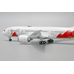 JC Wings 1:400 JAL Japan Airlines Boeing B787-800 Dreamliner 'Olympic Torch Relay - Flaps Down' JA837J (EW4788003A)