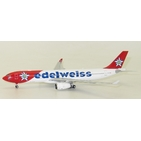 JC Wings 1:400 Edelweiss Air Airbus A330-300 HB-JHQ (LH4024)