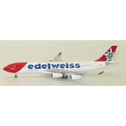 JC Wings 1:400 Edelweiss Air Airbus A340-300 HB-JMG (LH4025)