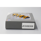 JC Wings Airport 1:400 Ground Support Equipment (GSE) - Aircraft Push Back Tug Set # 8 'HAECO & PAPAS' (JCGSE008)