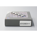 JC Wings Airport 1:400 Ground Support Equipment (GSE) - Aircraft Push Back Tug Set # 11 'BGS & Swissport' (JCGSE011)