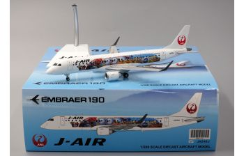 JC Wings 1:200 J-Air Embraer ERJ-190 'JAL Minion Jet' JA248J (JC2JLJ164 / XX2164)