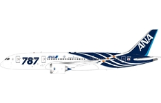 JC Wings 1:400 ANA All Nippon Airways Boeing B787-800 Dreamliner 'Delivery - Flaps Up' JA801A (XX4042)