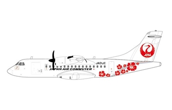 JC Wings 1:400 JAL Japan Air Commuter Aerospatiale ATR-42-600 'Delivery' JA01JC (JC4JAL018 / XX4018)