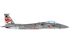 JC Wings Military 1:144 Japan Air Self-Defence Force (JASDF) Mitsubishi F-15J Eagle, 304th TFS, '40th Anniversary', 42-8947 (JCW-144-F15-002) with Stand