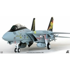 JC Wings Military 1:72 United States Navy (USN) Grumman F-14D Tomcat, VF-31 'Tomcatters', USS Abraham Lincoln, NK100 / 164348 (JCW-72-F14-001) with Stand