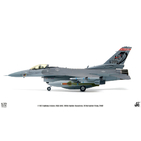 JC Wings Military 1:72 United States Air Force (USAF) Lockheed F-16C Fighting Falcon, 160th FS, 'Alabama ANG', 2002 AF88-399 (JCW-72-F16-008) with Stand